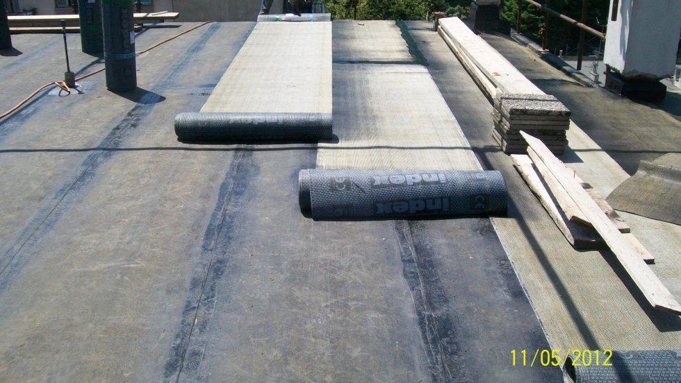 Rifacimento coperture terrazzi e tetti in ardesia genova corimp corimp edilizia genova - Impermeabilizzazione terrazzi esistenti ...